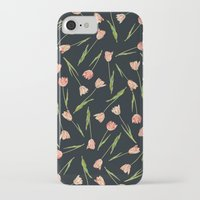 tulips iPhone & iPod Cases featuring Tulips by Heart of Hearts Designs