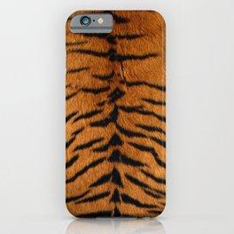 Faux Siberian Tiger Skin Design iPhone Case