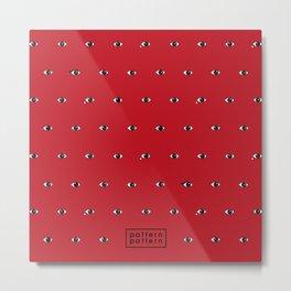 EYES / pattern pattern Metal Print