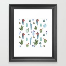 tropical forever Framed Art Print