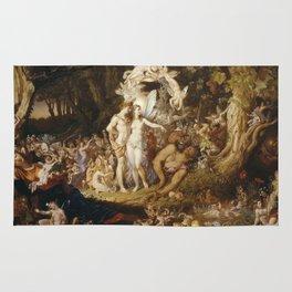Sir Joseph Noel Paton - The Reconciliation Of Oberon And Titania. Rug