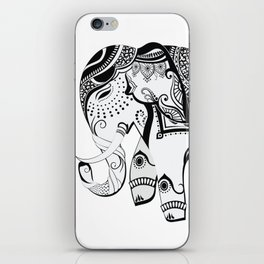 Abstract Design Indian Elephant iPhone Skin