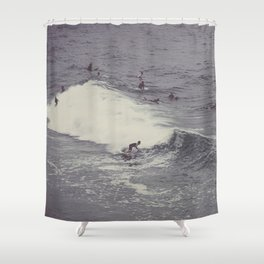 Surf in Arpoador Shower Curtain