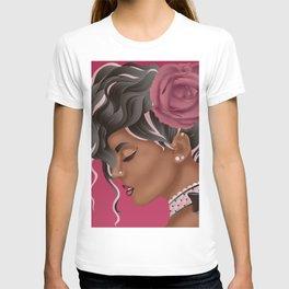 Vintage Fashion Portrait T-shirt