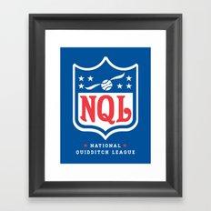 NQL Framed Art Print