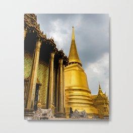 Phra Mondop Metal Print