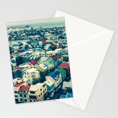 Retro Reykjavik - Iceland Stationery Cards