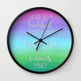 What is a Bookshelf? Wall Clock