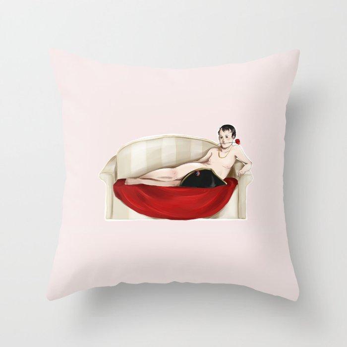 Bonaparte Throw Pillow