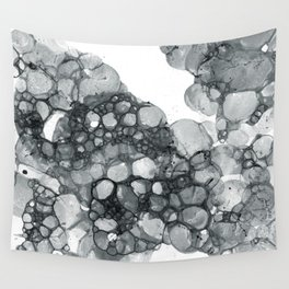 Ink Bubbles Wall Tapestry
