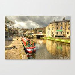 Todmorden Wharf Canvas Print