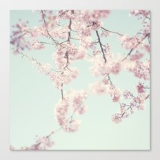 On a spring day Canvas Print