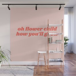 oh flower child Wall Mural