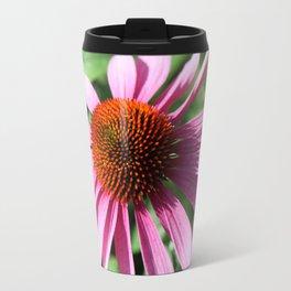 Purple Conflower Travel Mug