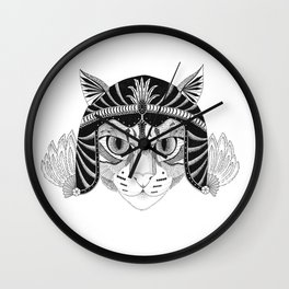 Simba, the fighter Wall Clock