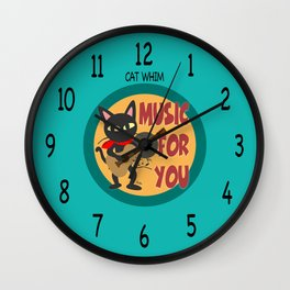 Music for you Wall Clock