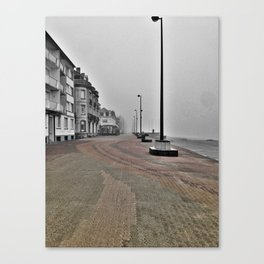 Abandoned City Canvas Print