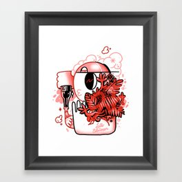 Late Bloomer Framed Art Print