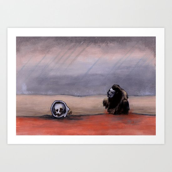The Rust Coloured Soil: Thus Spoke Zarathustra Art Print