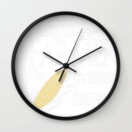 FARMER Wall Clock