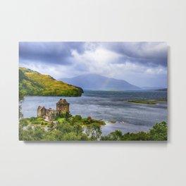 Eilean Donan Loch Duich Metal Print
