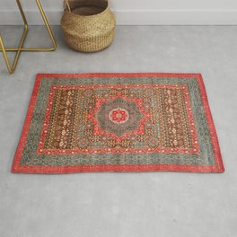 N156 - Vintage Heritage Traditional Boho Moroccan Style Design Rug