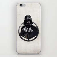 darth vader iPhone & iPod Skins featuring Darth Vader by Yvan Quinet