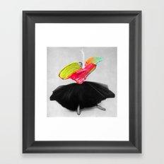 Stroked Framed Art Print