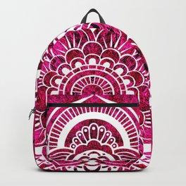 Mandala Hot Pink Colorburst Backpack