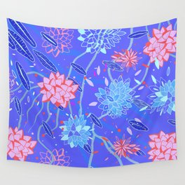 Heroinax Freaky Flowers Wall Tapestry