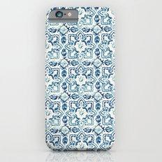 tile pattern IV - Azulejos, Portuguese tiles Slim Case iPhone 6