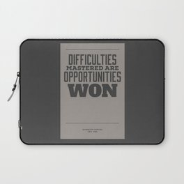 Difficulties Laptop Sleeve