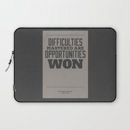 Difficulties Laptop Sleeve