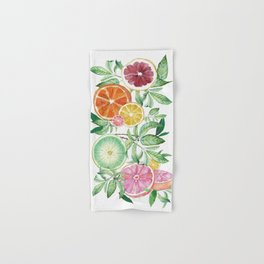 Citrus Fruit Hand & Bath Towel