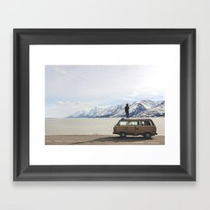 Wander the West Framed Art Print