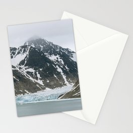 Arctic glacier scene Stationery Cards