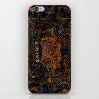 fire emblem iPhone & iPod Skins featuring Emblem by Heidi Fairwood