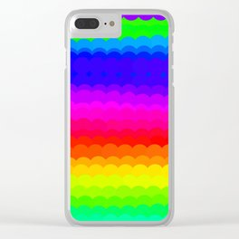 Rainbow Color S27 Clear iPhone Case