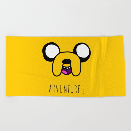 Adventure! Beach Towel