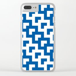 UW Tessellation 3 Clear iPhone Case