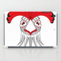 cock iPad Cases featuring Cock by HandeAylan