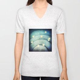 Pool Lilies  Unisex V-Neck