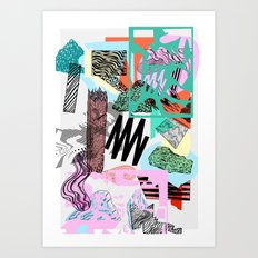 Defrag. Art Print