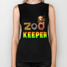Gift For Zoo Keeper. Costume From Kids Biker Tank