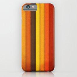 Vertical Grunge iPhone Case