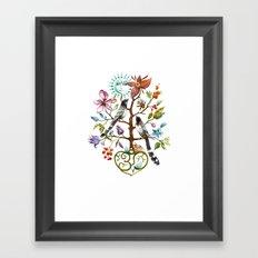 Healing Tree Framed Art Print
