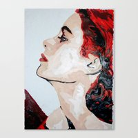 grace Canvas Prints featuring Grace by Anna McKay