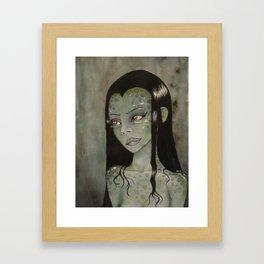Swamp Woman Framed Art Print