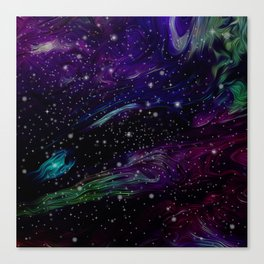 Inhabited space Canvas Print