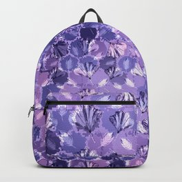 Mosaic Ginkgo (Ultra-Violet) Backpack